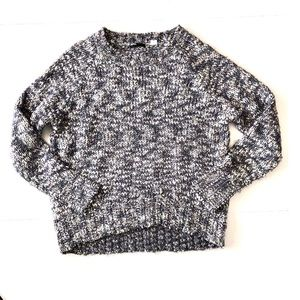 {BDG} Fuzzy Knit Multicolor Pullover Sweater